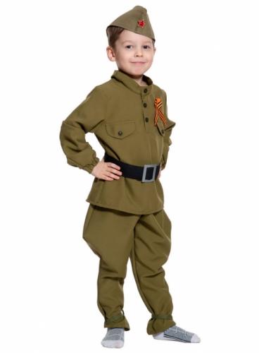 Карнавальный костюм Солдатик (без сапог), 5-7 лет