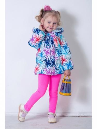 Куртка для девочек, размер 30, весна-осень, сиреневая Modus L, Каприз