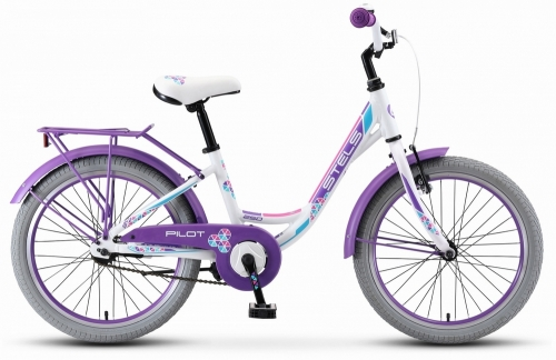 Велосипед Stels Pilot-250 Lady, белый, рама 20