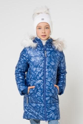 Куртка для девочки Crockid ВКБ 38043/н/1 ГР размер 146-152