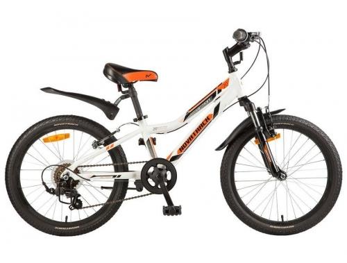 Велосипед Novatrack Action, белый, рама 20