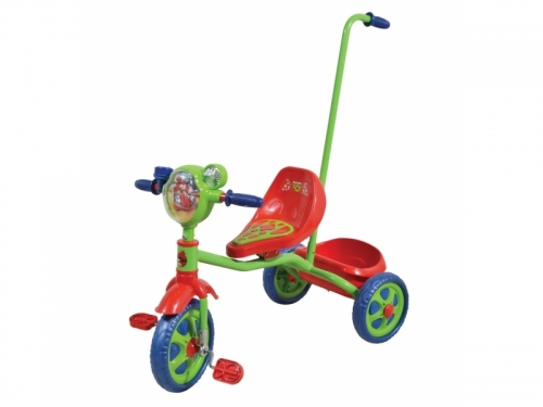 Велосипед Navigator Angry Birds, зеленый/красный/синий, трехколесные (до 3 лет)