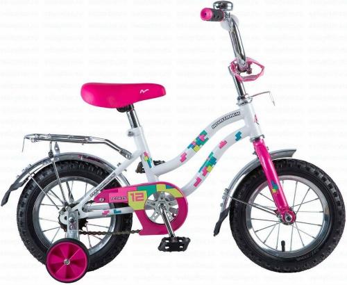 Велосипед Novatrack Tetris, белый, рама 12