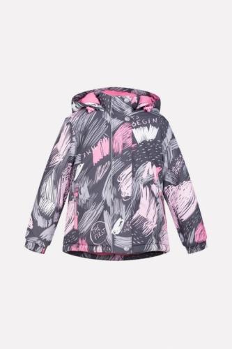 Куртка для девочки Crockid ВК 38033/н/1 ГР размер 116-122