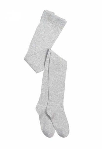 Колготки для девочек Pelican однотонные серый 146/152 GEH4001