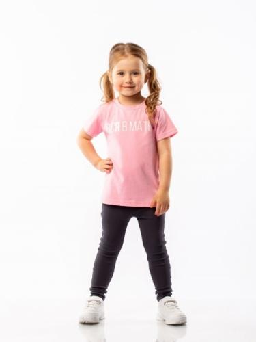 Футболка для девочки, размер 86-92, розовый Bodo 4-113U