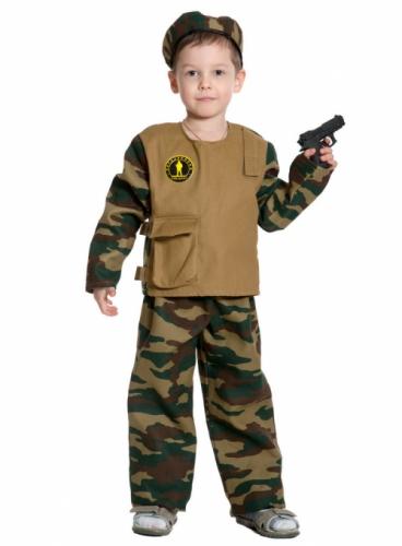 Карнавальный костюм Спецназ, 7-9 лет