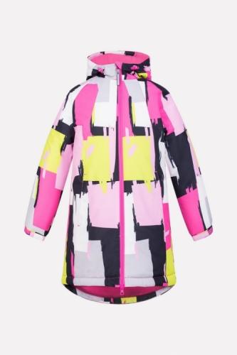 Куртка для девочки Crockid ВК 38038/н/1 ГР размер 140-146