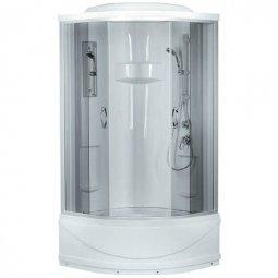 Душевая кабина Erlit Comfort ER1509T-C4 900х900х2150 мм тонированное стекло