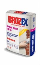 Штукатурка Brozex Прима Пласт GP-55 гипсовая стен и потолков премиум 30 кг