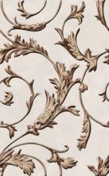 Вставка Golden Tile Виолла бежевый 021301 250х400