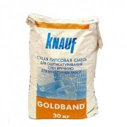 Штукатурка Knauf Гольдбанд 30 кг