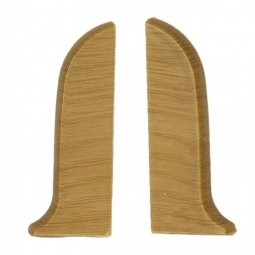 Заглушка торцевая левая и правая (блистер 2 шт.) Salag Дуб Королевский 56