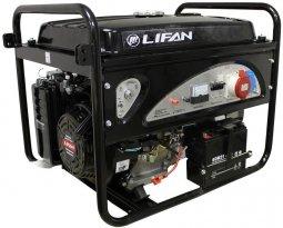 Генератор бензиновый Lifan 6GF2-4 220/380В