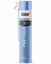 Монтажная пена Kudo Home 30+ бытовая всесезонная (1000 мл)
