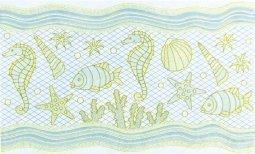 Декор Сокол Лазурный берег D754 орнамент глянцевый 33х20