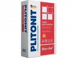 Клей для плитки Plitonit С для внутренних/наружных работ 25кг