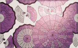 Декор Kerama Marazzi Кимоно Зонтики B1752\6162 25х40