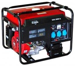Генератор бензиновый Elitech БЭС 6500 Д 5000/5500 Вт ручной/электрический запуск