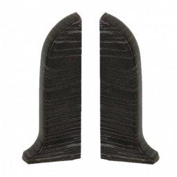 Заглушка торцевая левая и правая (блистер 2 шт.) Salag Дуб Паленый 56