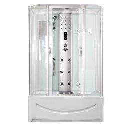 Душевая кабина Faro 420 170x85 белая с разборным экраном