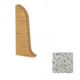Заглушка торцевая левая Elsi DIY 58 мм 087 Серый Гранит