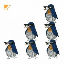 Декор Kerama Marazzi Остров пингвинов NT\A01\5155 20х20