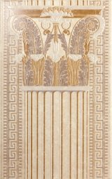 Декор Kerama Marazzi Феличе AC194\6193 25х40 капитель