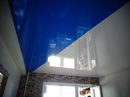 Натяжной потолок Бельгия одноуровневый глянцевый