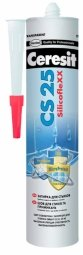 Затирка-герметик Ceresit СS 25 силиконовая с усиленным противогрибковым эффектом голубой (280мл)
