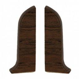 Заглушка торцевая левая и правая (блистер 2 шт.) Salag Орех Модена 56