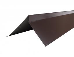 Планка торцевая полиэстер Технониколь RAL 8017 коричневая