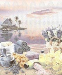 Панно Azori Variete Lila Harmony (комплект 3 шт.) 50.5x60.3