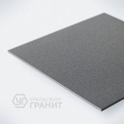 Керамогранит Уральский Гранит У019 Соль-перец Темно-серый 60х60 Полированный