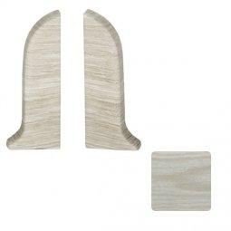 Заглушка торцевая левая и правая (блистер 2 шт.) Salag Дуб Арктика 56