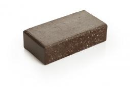 Брусчатка клинкерная «Шоколад» «Брауни» 100х200х55