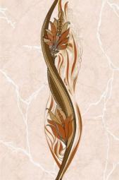 Вставка Golden Tile Александрия бежевый В11361 200х300