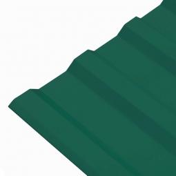Профнастил МП-20 (RAL 6005) зеленый мох 1150x2000x0.45