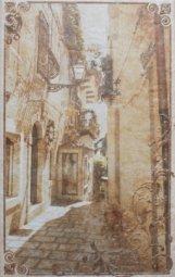 Декор Cracia Ceramica Palermo Beige Decor 01 25x40