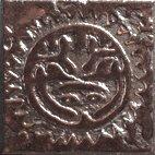 Вставка Сокол Урбан D-572-5 AZ орнамент матовая 11х11
