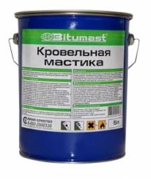 Мастика кровельная Bitumast металлическое ведро 5л