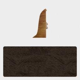 Заглушка торцевая правая Т-пласт 47 мм Орех Бразильский Темный