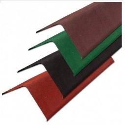 Щипцовый профиль Ондулин красный длина - 1м, полезная длина 0,85 м