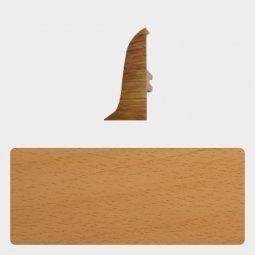 Заглушка торцевая правая Т-пласт 86 мм с центральной съемной панелью Бук Энглера