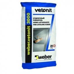 Ровнитель для пола Weber.Vetonit 3000 отделочный 20кг