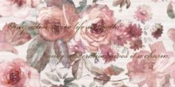 Декор Нефрит-керамика Флориал 04-01-1-10-03-41-336-0 50x25 Розовый