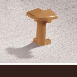 Наружный угол Cezar Для ковролина 117 Коричневый