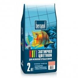 Затирка Bergauf Kitt на цементной основе для швов до 5 мм темно-коричневая (2кг)