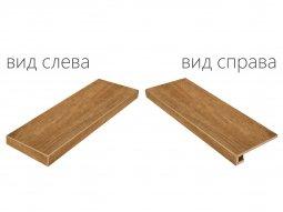 Ступень угловая левая Italon NL-Wood xани 33x90 натуральная