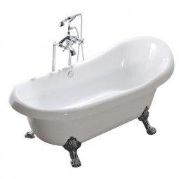 Ванна Faro Классик CLDS67 акриловая без ножек 170x80x82.5